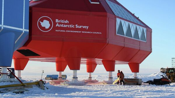 Британская исследовательская станция Халли в Антарктике