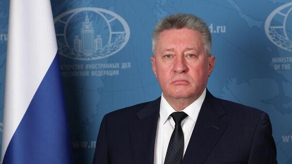 Чрезвычайный и полномочный посол РФ в Джибути и Сомали Михаил Голованов