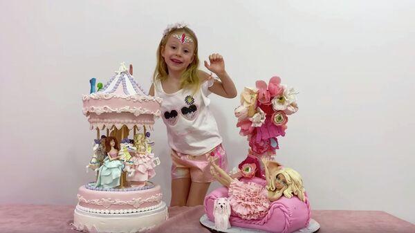 Кадр из клипа Настя - Тебя поздравит Настя - песня для детей (Official Video)