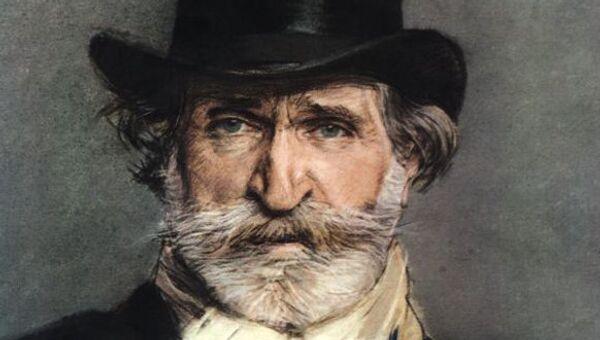 Портрет Джузеппе Верди кисти художника Джованни Болдини