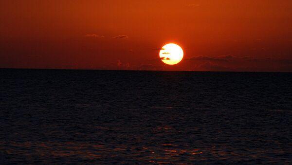Заход солнца на Ямайке. Архивное фото