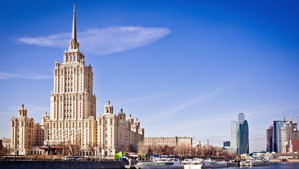 Гостиница Украина в Москве. Архивное фото