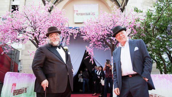 Михаил Куснирович и Владимир Спиваков на фестивале Черешневый лес