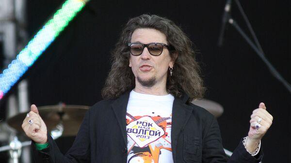 Сергей Галанин - ведущий фестиваля Рок над Волгой