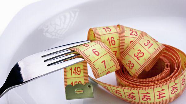 Сантиметр на тарелке