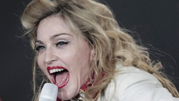 Мадонна. Архивное фото