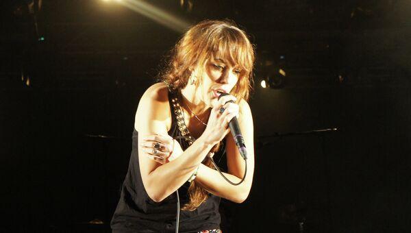 Выступление певицы Zaz на фестивале Sziget. Архивное фото
