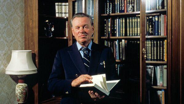 Дирижер Евгений Светланов. Архивное фото