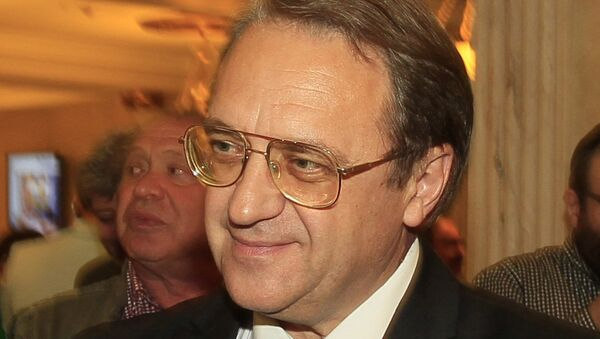 Заместитель министра иностранных дел РФ Михаил Богданов, архивное фото