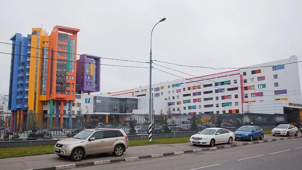 Здание Федерального научно-клинического Центра детской гематологии
