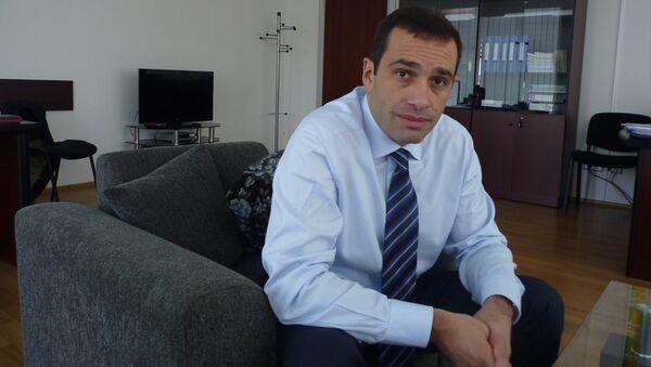 Грузинский политик и дипломат Ираклий Аласания