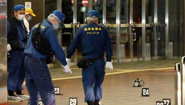 Безработный молодой человек устроил резню на железнодорожной станции в японской префектуре Фукуока
