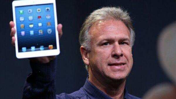 Кадры презентации нового планшета iPad mini от корпорации Apple