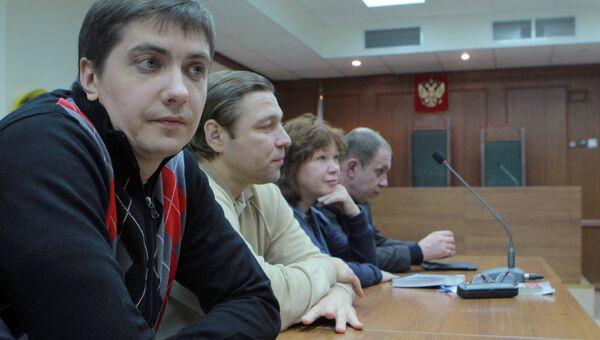 Оглашение приговора бывшему сотруднику СК РФ Андрею Гривцову