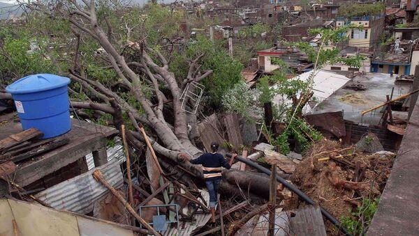 Последствия урагана Сэнди в кубинской провинции Сантьяго-де-Куба
