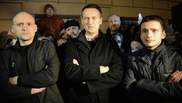 Задержанных оппозиционеров выпустили из ОМВД Басманное