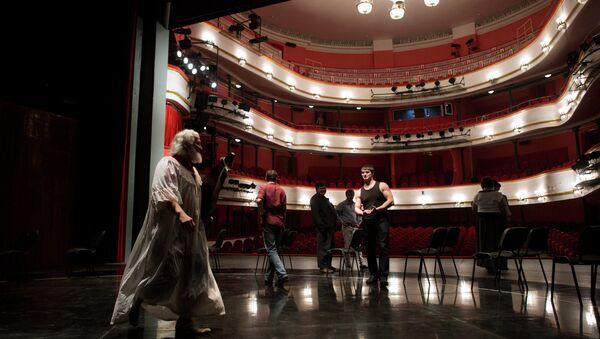 Театр им. Маяковского. Архивное фото