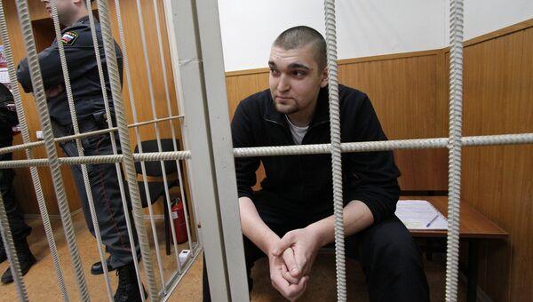 Рассмотрение вопроса о продлении срока ареста Степану Зимину