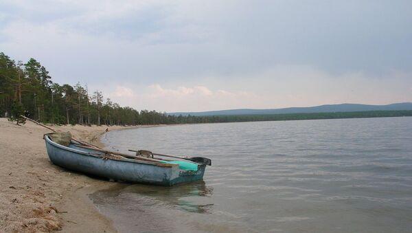 Озеро Арей в Забайкальском крае