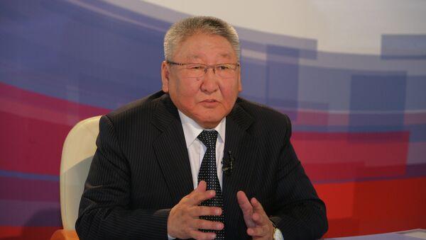 Президент Республики Саха (Якутия) Егор Борисов. Архивное фото
