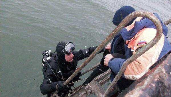 Работы по поиску экипажа сухогруза Амурская