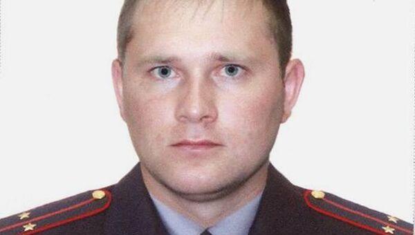 Полицейский Сергей Шаманаев, погибший в ДТП в Кузбассе