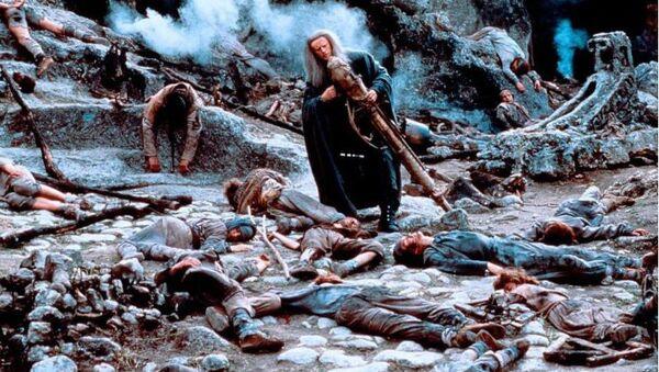 Кадр из фильма Трудно быть Богом