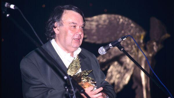 Алексей Герман-старший, кинорежиссер, на церемонии вручения премии Ника