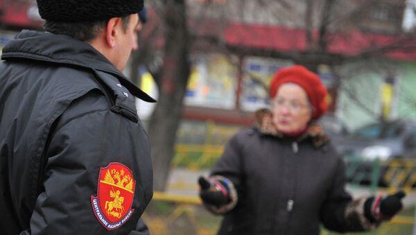 Патрули казачьих дружин появились в Москве