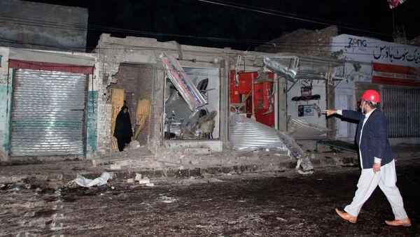 Последствия теракта в городе Равалпинди, Пакистан