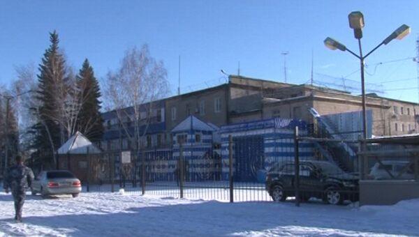 Одно из зданий исправительной колонии №6 города Копейска Челябинской области