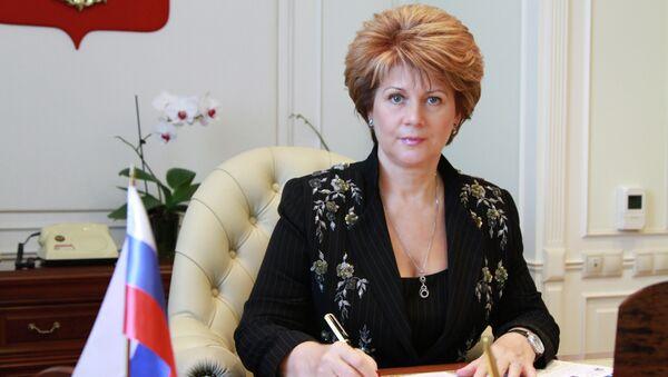 Руководитель Рособоронпоставки Надежда Синикова