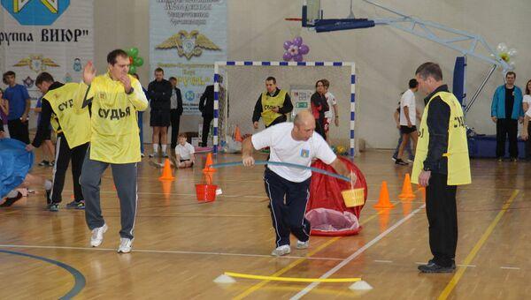 Областной фестиваль спортивных семей в Павловском Посаде