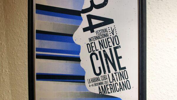 Афиша кинофестиваля в Гаване