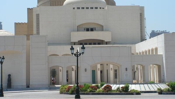 Здание Каирской оперы. Архивное фото