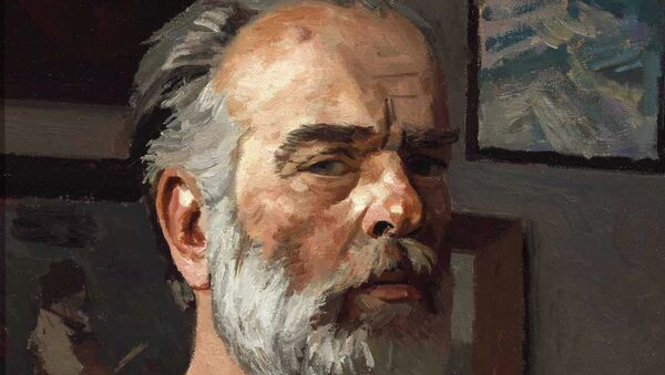 Гелий Коржев. Автопортрет. Архивное фото