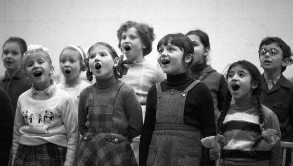 Детский хор. Архив