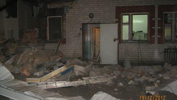 Взрыв газового баллона на мясокомбинате в Мордовии