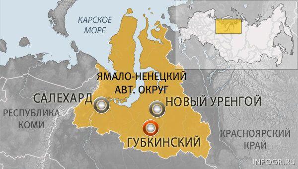 Город Губкинский Ямало-Ненецкий АО