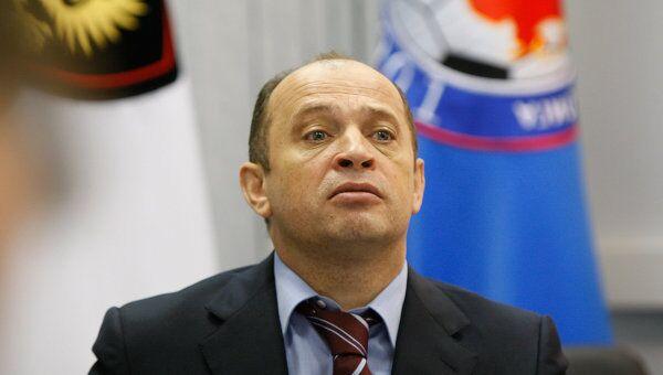 Президент Российской футбольной премьер-лиги (РФПЛ) Сергей Прядкин. Архивное фото