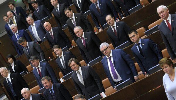 Заседание Совета Федерации РФ. Архив