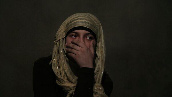 Сирийские беженцы, архивное фото