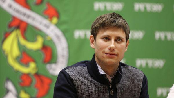 Уполномоченный по правам студентов в РФ Артем Хромов. Архивное фото
