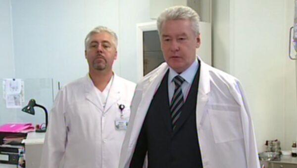 Собянин навестил в больнице пострадавших при крушении Ту-204