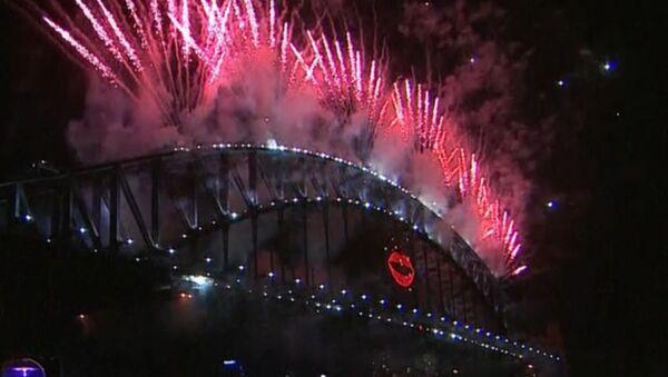 Новогодние фейерверки озарили ночное небо городов мира