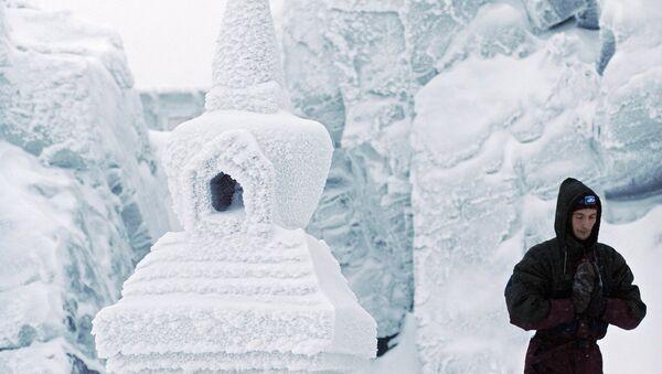 Буддийский монастырь Шад Тчуп Линг на горе Качканар. Архивное фото