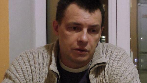 Алексей Кабанов, подозреваемый в убийстве жены