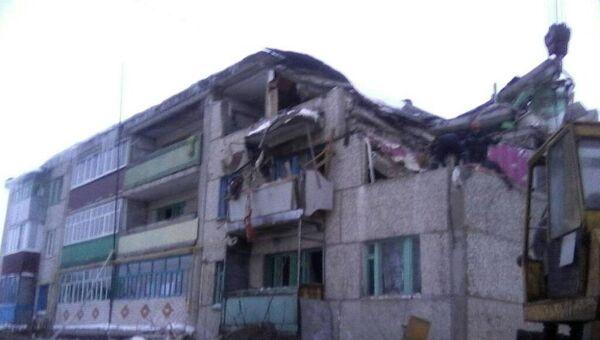 Взрыв бытового газа в Чувашии