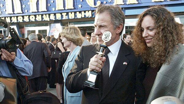 Американский актер Харви Кейтель с супругой Дафной. Архивное фото