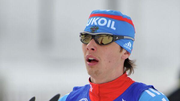 Российский лыжник Александр Бессмертных. Архивное фото